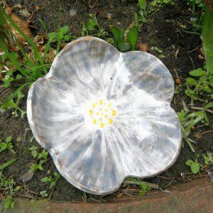 bol mic floare ceramic