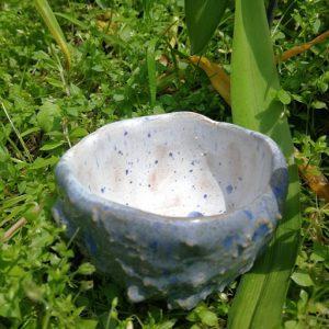bol ceramica fundal alb
